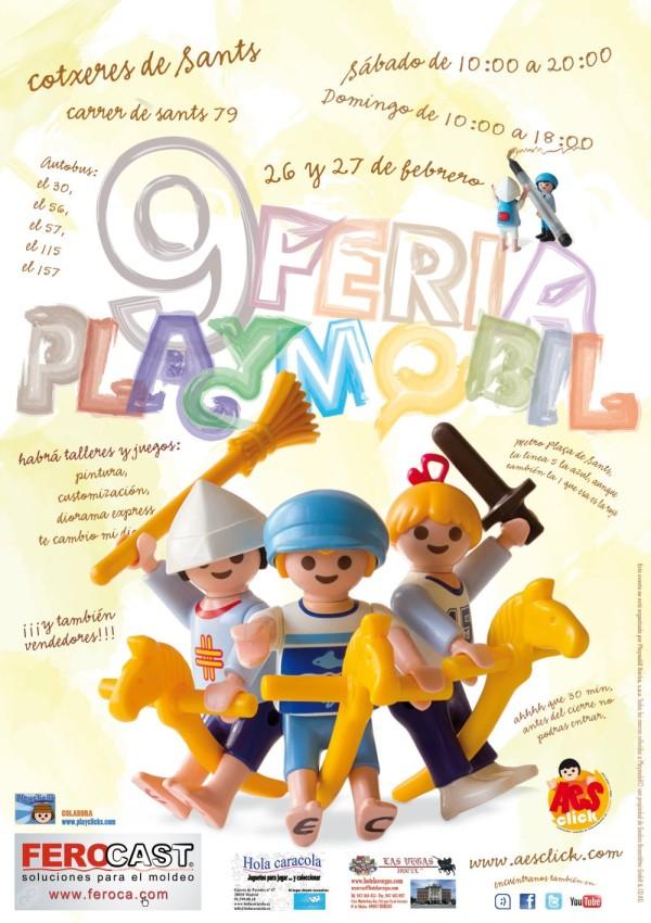 Clicks de Playmobil en Barcelona